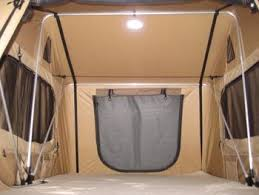 roof top tent interior inside