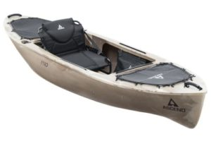 ascend bass fishing kayak