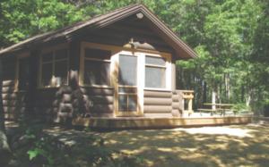 camper cabin camping
