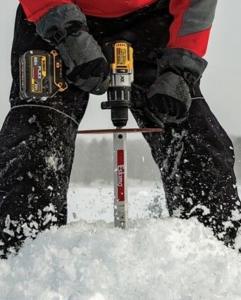 ice fishing drill bit